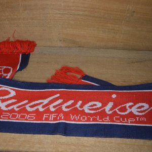 2006 Fifa World Cup Budweiser Licensed Scarf